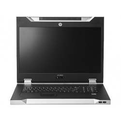 """Hewlett Packard Enterprise - LCD8500 1U INTL Rackmount Console Kit 18.5"""" 1600 x 1200Pixeles Plata 1U consola de rac"""