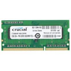 Crucial - CT25664BF160BJ 2GB DDR3 1600MHz módulo de memoria