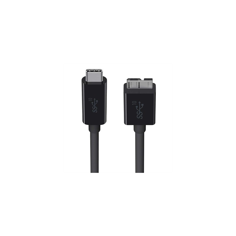 62f18b3a6 Belkin - F2CU031BT1M-BLK cable USB 0,91 m USB C Micro-USB B Macho ...