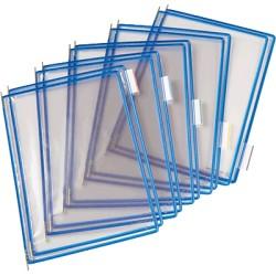Tarifold - 114001 accesorio de soporte para mostrar documentos Montura Azul PVC