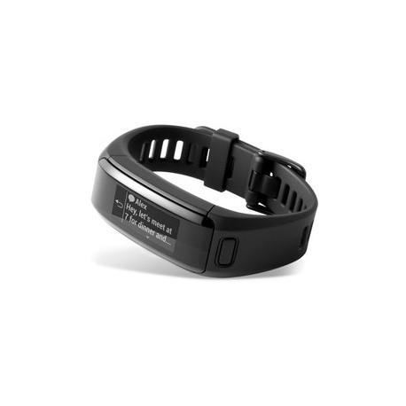 Garmin - vívosmart HR Inalámbrico Wristband activity tracker Negro