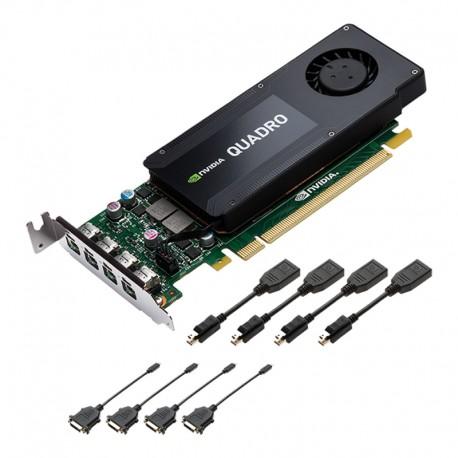 PNY - VCQK1200DVI-PB LP Quadro K1200 4GB GDDR5