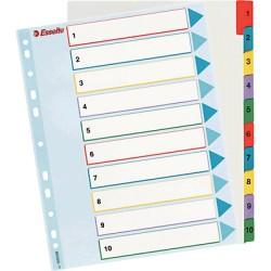 Esselte - ESD IND CART A4+ 1-5 POS REUTIL 100207