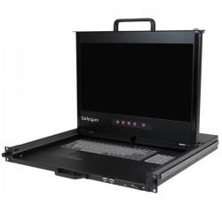 StarTech.com - Consola KVM 1U con pantalla de 17 pulgadas 1080p para rack