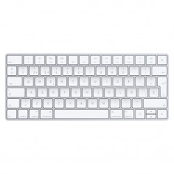 Apple - Magic Bluetooth QWERTY Español Color blanco teclado - 22088898