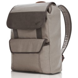 Lenovo - ThinkPad Casual BackPack Tela cruzada Beige, Marrón mochila
