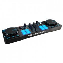 Hercules - 4780843 controlador dj Negro 2 canales