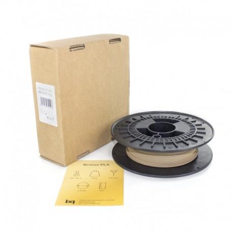 bq - F000079 Ácido poliláctico (PLA) Bronce 750g material de impresión 3d