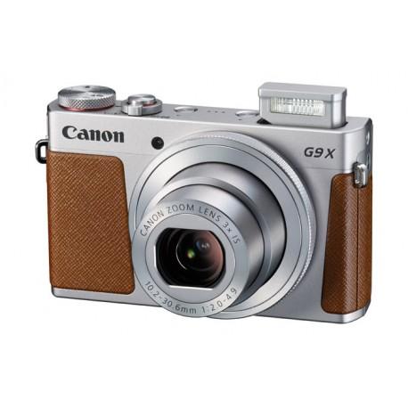 "Canon - PowerShot G9 X Cámara compacta 20.2MP 1"" CMOS 5472 x 3648Pixeles Marrón, Plata"