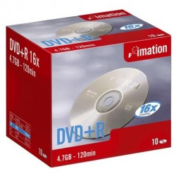 Imation - DVD+R 16x 4.7Gb (10) 4,7 GB 10 pieza(s)