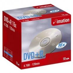 Imation - DVD+R 16x 4.7Gb (10) 4.7GB DVD+R 10pieza(s)