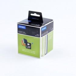 DYMO - Lever arch labels Negro, Color blanco 110pieza(s) etiqueta autoadhesiva - 318013