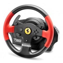 Thrustmaster - T150 Ferrari Wheel Force Feedback Volante + Pedales PC,PlayStation 4,Playstation 3 USB Negro, Rojo