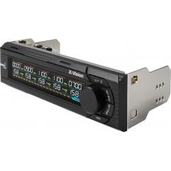 Aerocool - X-Vision 5channels Negro controlador de velocidad de ventilador
