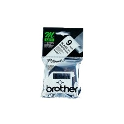 Brother - M-K221B cinta para impresora de etiquetas Negro sobre blanco