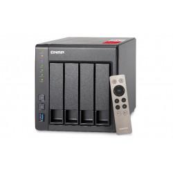 QNAP - TS-451+ NAS Tower Ethernet Negro J1900