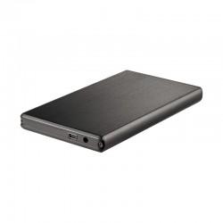 """TooQ - TQE-2522B Disco duro portátil 2.5"""" Negro caja para disco duro externo"""