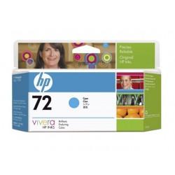 HP - Cartucho de tinta ciano 72 DesignJet 130 ml 1 pieza(s) Original Alto rendimiento (XL) Cian