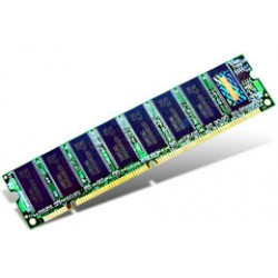Transcend - 256MB SDRAM PC133 Unbuffer Non-ECC Memory 0.25GB 133MHz módulo de memoria