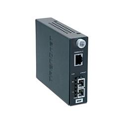 Trendnet - TFC-1000MSC 2000Mbit/s 1310nm Multimodo Gris convertidor de medio