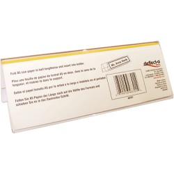 Deflecto - DEF PORTANOMBRES PLASTICO A5 DE48701