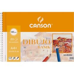 Canson - GUA B.20H BASIK 130G A4+ MICROP 0408062