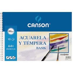 Canson - GUA MINIPACK 6H ACUAR 370G A3 0402393