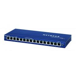 Netgear - ProSafe 16 port 10/100 desktop switch No administrado