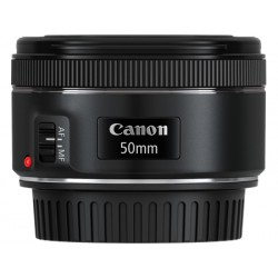 Canon - EF 50mm f/1.8 STM SLR Teleobjetivo Negro