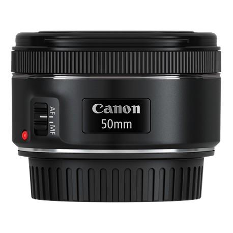 Canon - EF 50mm f/1.8 STM SLR Telephoto lens Negro