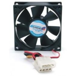 StarTech.com - Ventilador Fan para Chasis Caja de Ordenador PC Torre - 80x25mm - Conector LP4