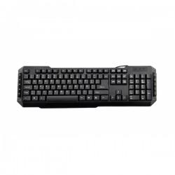 3GO - KBDRILEPS2 teclado PS/2 QWERTY Español Negro