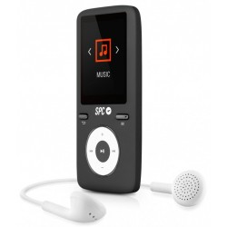 SPC - Pure Sound Colour 2 Reproductor MP3/MP4 Negro 8488D