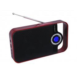 Sunstech - RPDS250 Portátil Digital Rojo radio