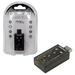 MCL - USB2-257 tarjeta de audio 7.1 canales USB