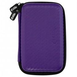 e-Vitta - EVHD000032 Funda de protección Fibra de carbono Púrpura funda para disco duro externo