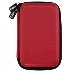 e-Vitta - EVHD000031 Funda de protección Fibra de carbono Rojo funda para disco duro externo
