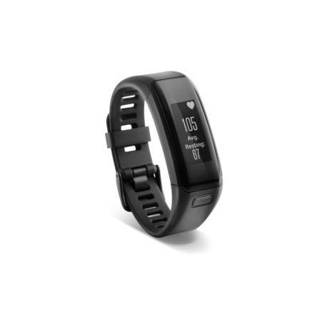 Garmin - vívosmart HR Alámbrico/Inalámbrico Wristband activity tracker Negro