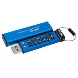 Kingston Technology - DataTraveler 2000 32GB 32GB USB 3.0 (3.1 Gen 1) Conector USB Tipo A Azul unidad flash USB