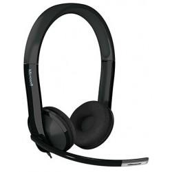 Microsoft - LifeChat LX-6000 for Business Binaural Diadema Negro