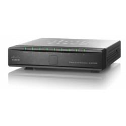 Cisco - SLM2008 PoE Managed network switch L2 Energía sobre Ethernet (PoE) Negro