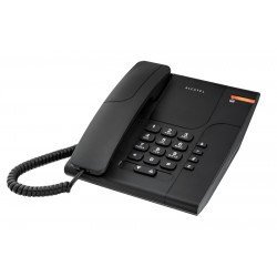 Alcatel - Temporis 180 Analog/DECT telephone Negro
