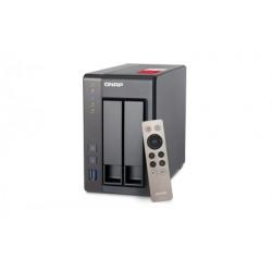 QNAP - TS-251+ J1900 Ethernet Tower Gris NAS