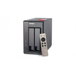 QNAP - TS-251+ NAS Tower Ethernet Gris J1900