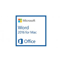 Microsoft - Word for Mac 2016, 1u - 18257202