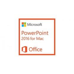 Microsoft - PowerPoint 2016 for Mac, 1u - 18257200