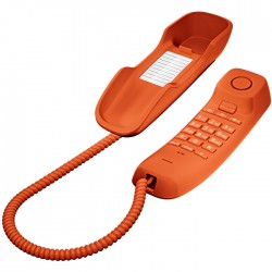 Gigaset - DA210 Teléfono analógico Naranja