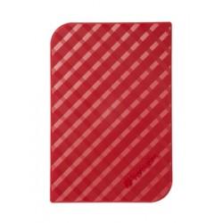 Verbatim - Disco Duro Portátil Store 'n' Go USB 3.0 de 1 TB en color rojo