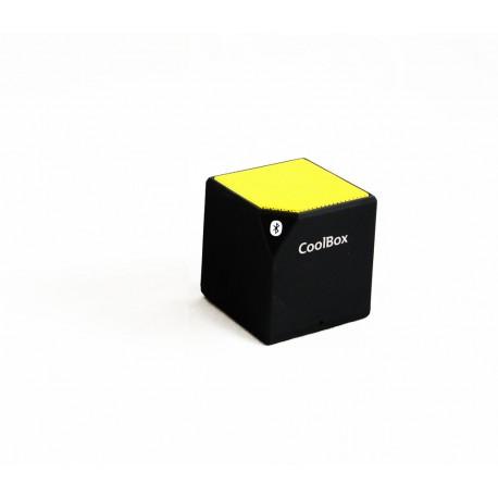 CoolBox - Cube Mono portable speaker 2.5W Amarillo