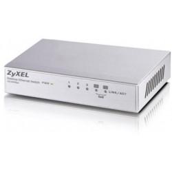 Zyxel - ES-105A No administrado Fast Ethernet (10/100) Plata